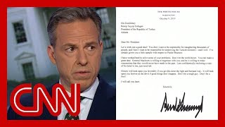 Jake Tapper: I thought this Trump letter was a joke ... it's real