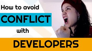 How to avoid CONFLICT with DEVELOPERS