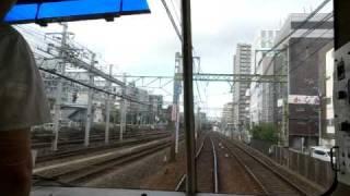 """""""Keikyu Line - Yokohama to Kanagawa-Shinmachi"""" (100730Fr-1707)"""