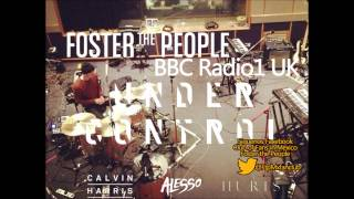 Foster The People- Under control ft Hurts cover on BBC Radio1 UK