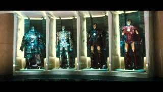 Iron man 3   AC DC   War Machine  Music Video 1080p HD Soundtrack