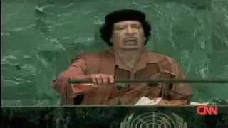 H1N1 Swine Flu Is an Artificial Bioweapon : Libyan Leader Announced in United Nation Assembly