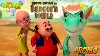 Motu Patlu in Dragon's world | Movie promo | WowKidz width=