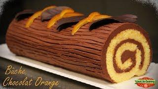 ❅ Recette de Bûche de Noël Chocolat Orange ❅