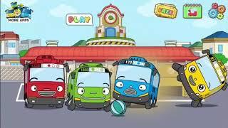 TAYO GARAGE STATION Gameplay! Bermain Dengan Tayo, Lani, Rogi, dan Gani.