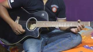 cham cham on guitar from movie Baaghi