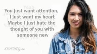 Attention[Lyrics] - Charlie Puth - Ysabelle Cuevas (Cover)