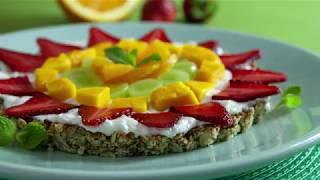 Pizza de Frutas | Receitas Saudáveis - Lucilia Diniz