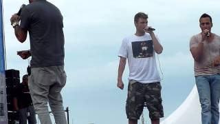Backstreet Boys - Oostende (Belgium) - Soldier - Soundcheck - July 20th 2014