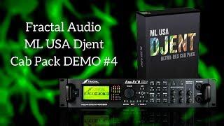 ML Sound Lab USA (not just) Djent Cab Pack - MIX #4 (Fractal Audio)