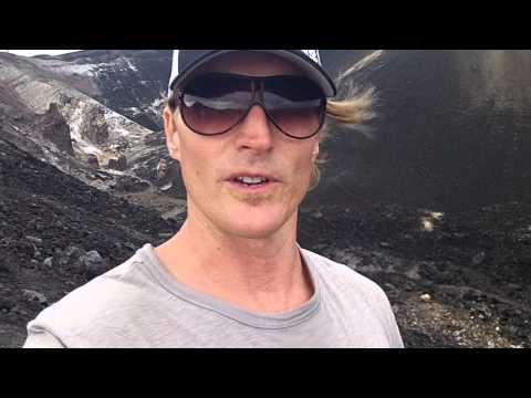 New Sport! Barefoot Volcano Hiking