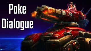Sgt. Hammer Poke Dialogue | All Quotes | Heroes of the Storm