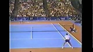 Boris Becker vs McEnroe Final - Atlanta 1986 - 11/11