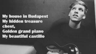 George Ezra - Budapest. Acoustic Karaoke. Guitar Cover