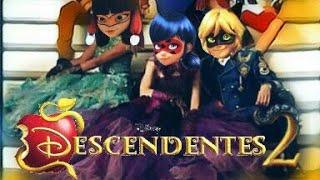 Descendentes 2 versão Miraculous ladybug | Trailer #2017