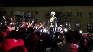 Nasty C perform 'HELL NAW' live at Ivyson Tour in Cape Town