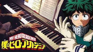 """My Hero Academia OST """"I Cannot See Directly"""" Piano Solo"""