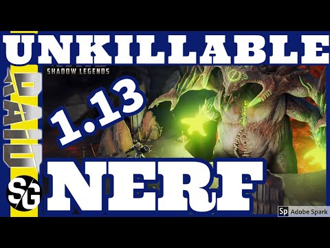 RAID SHADOW LEGENDS | UNKILLABLE NERF 1.13