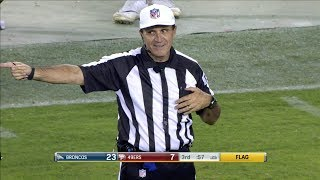 NFL Most Penalties In One Play