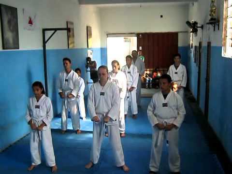 Exame de Faixa Academia Art's Center Taekwondo - 10º Gup