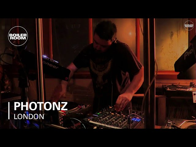 Video en directo de Photonz para Boiler Room London