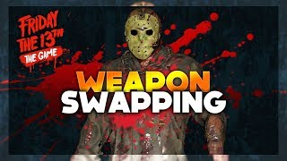 Will Weapon Swapping Be BROKEN? (Unfair) | Friday The 13th: The Game