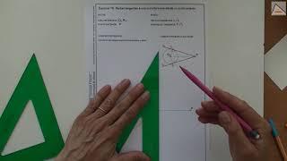 Imagen en miniatura para Rectas tangentes a una circunferencia desde un punto exterior