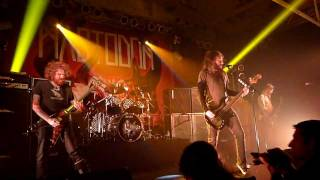 MASTODON - Black tongue (Live in Köln 2012, HD)