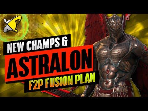 ASTRALON FUSION PLAN | New Champions First Look !! | RAID: Shadow Legends