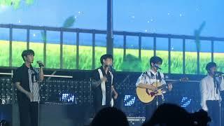 180825 Chuncheon Kpop Mega Concert | VROMANCE - Basic Instinct (원초적 본능)