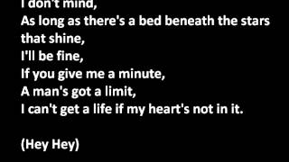 The importance of being idle - Oasis with lyrics