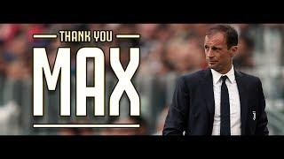Thank You Max - IL FILM   Il meglio di Allegri con la Juventus (2014-2019)