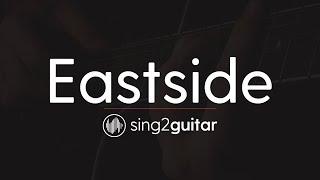 Eastside (Acoustic Guitar Karaoke) benny blanco, Halsey & Khalid