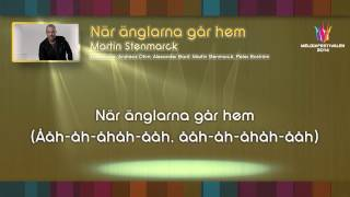 "Martin Stenmarck - ""När änglarna går hem"" - (on screen lyrics)"