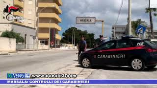 Marsala: controlli dei carabinieri