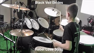 Rebel Love Song - Black Veil Brides drum cover