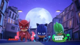 PJ Masks Super Pigiamini - Gattoboy, gufetta e geco - Nuova serie