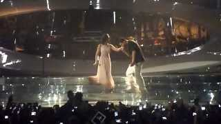 FROM TIME ft Jhene Aiko - Drake concert [PARIS BERCY] 24.02.2014 HD
