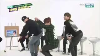 BTS 跳女团舞