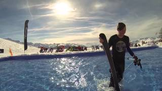 Les Arcs Water Slide 2014 - Epic GoPro Fail!