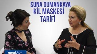 Suna Dumankaya kil maskesi nasıl yapılır? | Bakım-Güzellik | Nasil.com