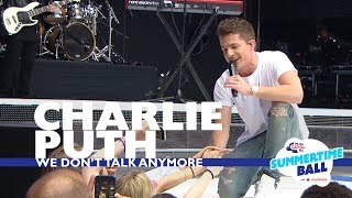Charlie Puth - 'We Don't Talk Anymore'  (Live At Capital's Summertime Ball 2017)