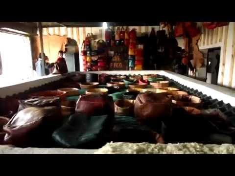 Morocco, Fez Tannery (모로코의 가죽 염색공장)