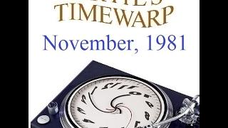 Dozens of Pop Music Hits from November, 1981