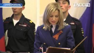 Natalia Poklonskaya ENGlish SUBS Наталья Поклонская, 07.05.14, full oath version