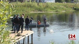 В озере Светлое ищут утонувшего