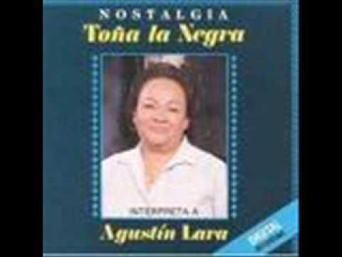 Porque Negar de Agustin Lara Letra y Video