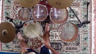 Drum cover Luan Santana - Chuva de arroz.