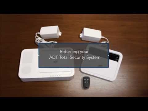 How Do I Disconnect Pack And Return My Adt Total Security