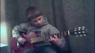 AC/DC Hells Bells Cover Played by Johnny